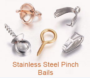 Stainless Steel Pinch Bails