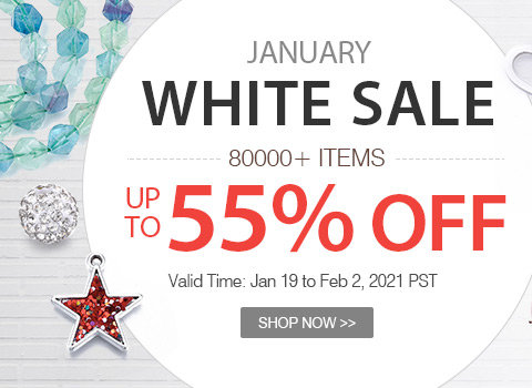 January White Sale 80000+ Items Up to 55% OFF