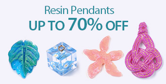 Resin Pendants Up to 70% OFF