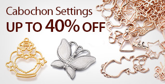Cabochon Settings Up To 40% OFF
