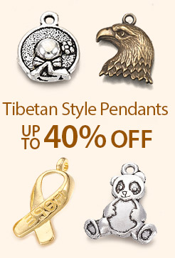 Tibetan Style Pendants Up to 40% OFF