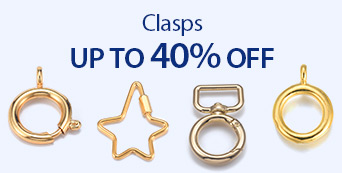 Clasps Up to 40% OFF