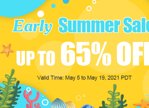 Early Summer Sale Up to 65% OFF