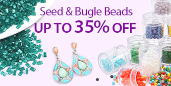 Seed & Bugle Beads Up to 35% OFF