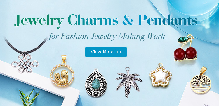 Jewelry Charms & Pendants for Fashion Jewelry Making Work