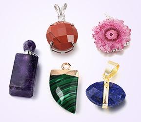 Gemstone Charms & Pendants