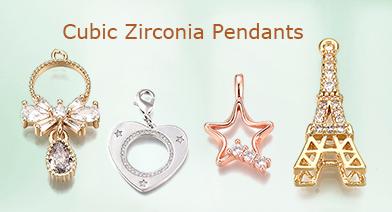 Cubic Zirconia Pendants