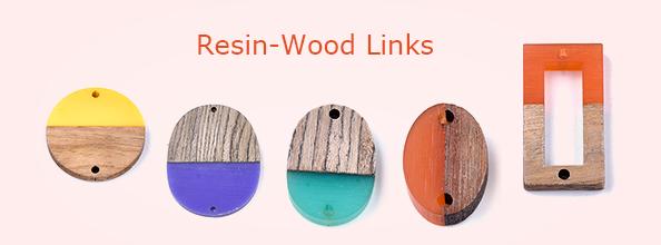 Resin-Wood Links