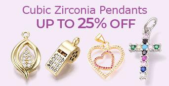 Cubic Zirconia Pendants Up To 25% OFF