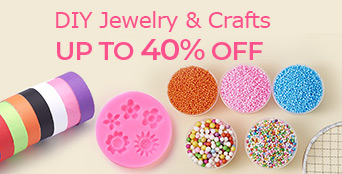 DIY Jewelry & Crafts Up To 40% OFF