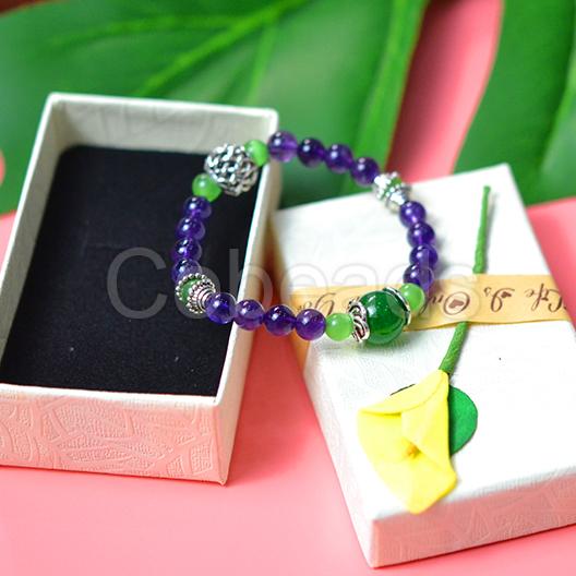 Cobeads Tutorial on Beaded Bracelet with Gemstone Beads