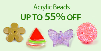 Acrylic Beads Up to 55% OFF