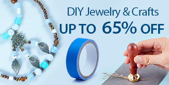 DIY Jewelry & Crafts Up to 65% OFF
