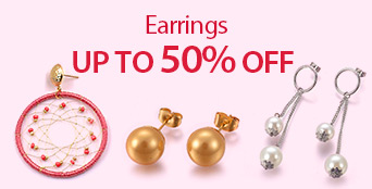 Earrings Up to 50% OFF