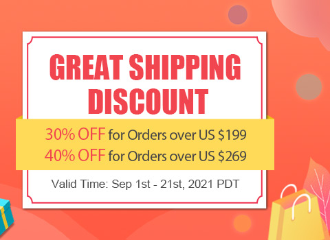 Great Shipping Discount